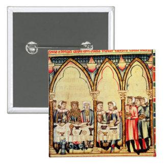 Engagement Banquet, from the manuscript Button