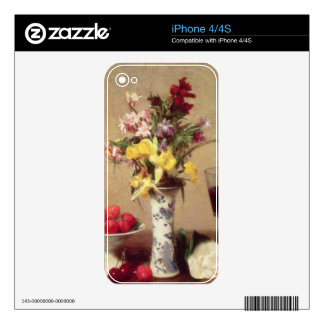 Engagement Bouquet Skin For iPhone 4S