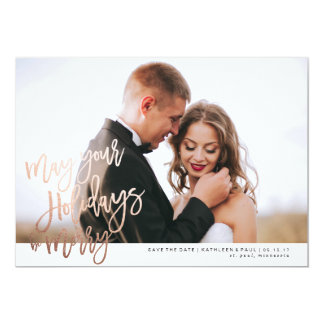 Save The Date Christmas Cards   Zazzle