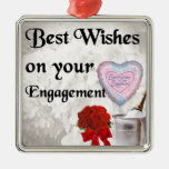 Engagement Christmas Ornaments