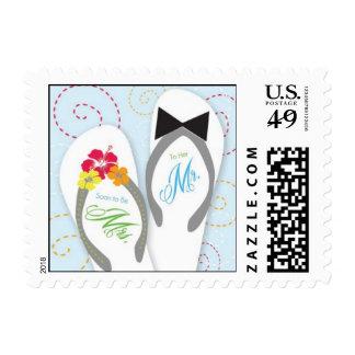 Engagement Flip Flip Perfect Pair Postage Stamps