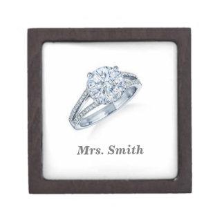 Engagement Gift Box Premium Trinket Box