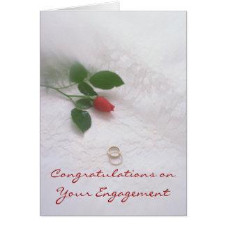 Engagement Greeting Card
