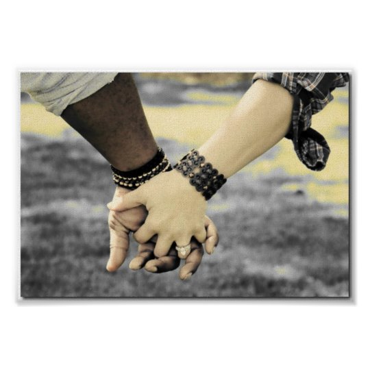Engagement Hands Poster