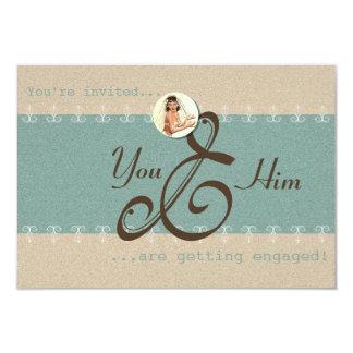 Engagement - Invitation Card, Invite