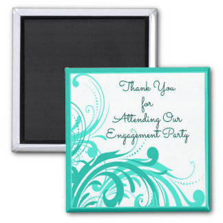 Engagement Party Favor Magnet