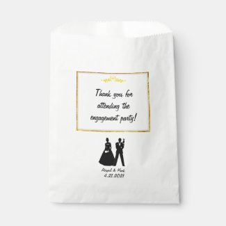 Engagement Party Favors Bag
