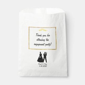 Engagement Party Favors Bag