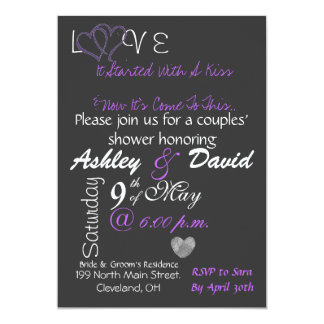 Engagement Party Invitation! 5x7 Paper Invitation Card
