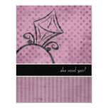 """Engagement Party Invitations 4.25"""" X 5.5"""" Invitation Card"""