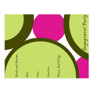 Engagement Party Invitations Post Cards
