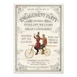 Engagement Party Invitations   Vintage Antique