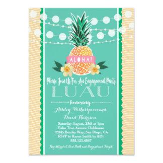 Engagement Party Luau Hawaiian Invitation