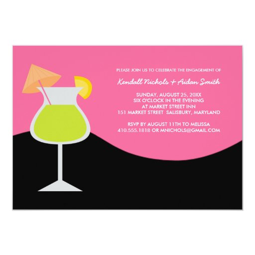 Engagement Party or Cocktail Party Invitations