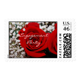 Engagement Party Postage Stamp