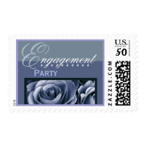 ENGAGEMENT Party - Shades of Periwinkle - Roses Postage
