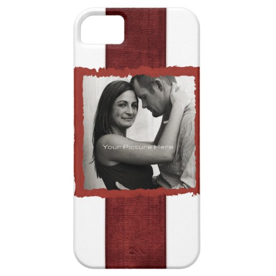 Engagement Photo Rustic Vintage Wedding iPhone SE/5/5s Case