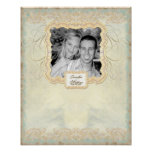 Engagement Photo Signing Poster - Fine Art