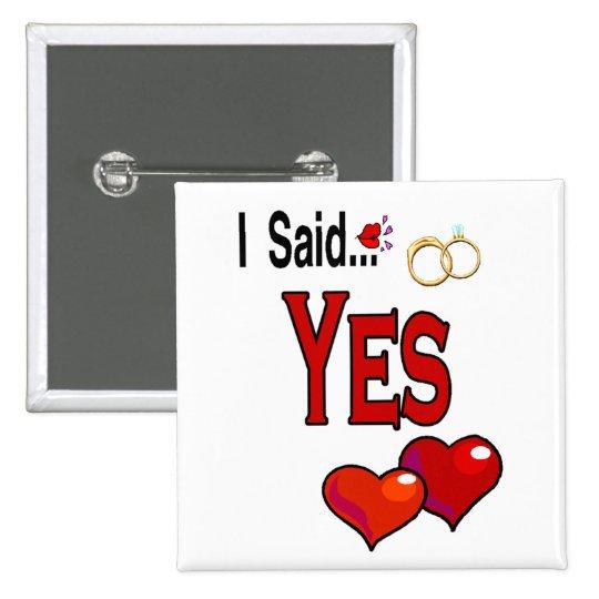 Engagement Pinback Button