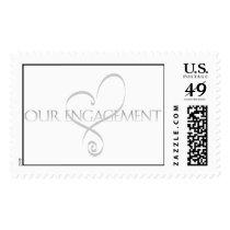 Engagement Postage Stamp