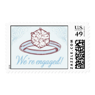 Engagement Ring 1-Blue by Ceci New York Stamps