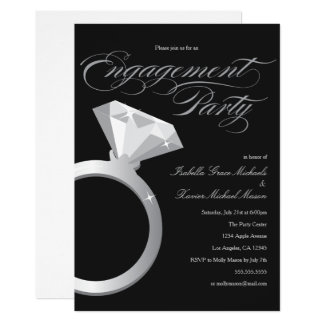 Engagement Ring | Engagement Party Invitation