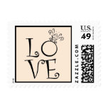 Engagement Ring LOVE Postage