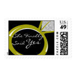 Engagement Ring Postage Stamps
