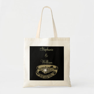 Engagement Rings Customisable Digital Art Gifts Tote Bag