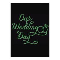ENGAGEMENT, SHOWER OR WEDDING *INVITATION* CARD