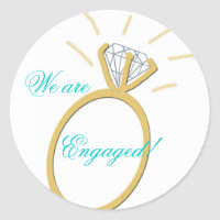 Engagement Stickers