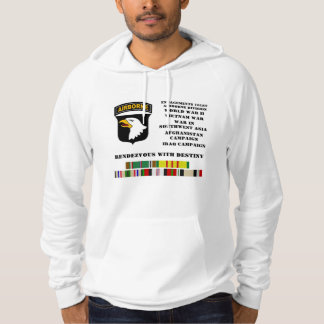 Engagements of the 101st airborne division hoodie
