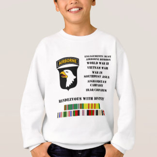 Engagements of the 101st airborne division sweatshirt
