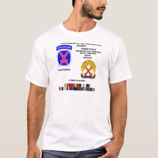 Engagements of  the 10th Mountain division T-Shirt