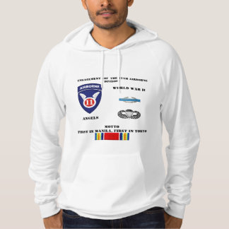 Engagements of  the 11th Airborne Division Hoodie