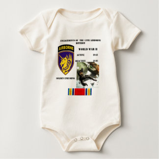 Engagements of  the 13th Airborne Division Baby Bodysuit