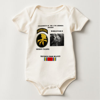 Engagements of  the 17th Airborne Division Baby Bodysuit