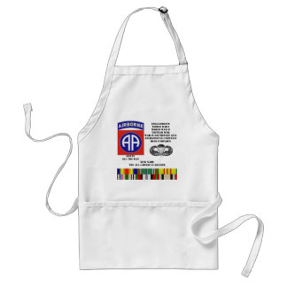 Engagements of  the 82nd  airborne division adult apron