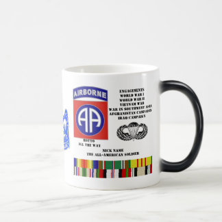 Engagements of  the 82nd  airborne division magic mug