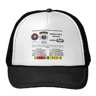 Engagements of the 9th Infantry/Airborne Division Trucker Hat