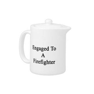 Enganchado a un bombero