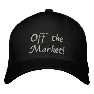 ¡Enganchado! ¡Del mercado! Gorra De Beisbol