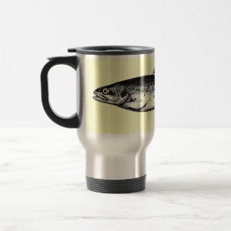 Enganchado en el café taza térmica