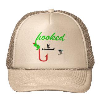 enganchado en el gorra de la pesca del torneo