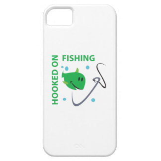 ENGANCHADO EN LA PESCA iPhone 5 Case-Mate COBERTURA