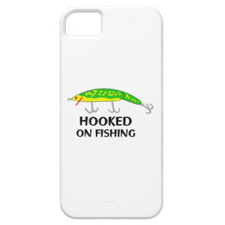 ENGANCHADO EN LA PESCA iPhone 5 FUNDAS