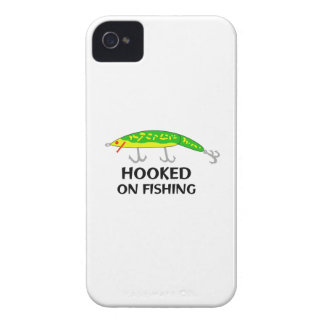 ENGANCHADO EN LA PESCA Case-Mate iPhone 4 FUNDA