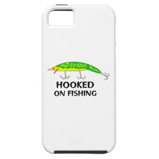 ENGANCHADO EN LA PESCA iPhone 5 Case-Mate CARCASAS