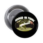 Enganchado en la pesca pin