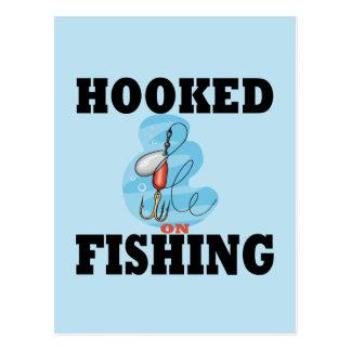 Enganchado en la pesca postal